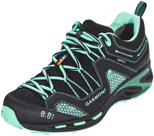 Garmont 9.81 Trail Pro III GTX Shoes Women Black/Light Green UK 4 wQo2K